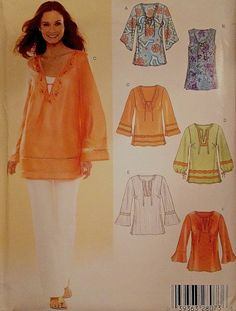 bohemian tunic dressmaking patterns - Google Search