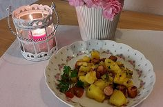 Potato Salad, Muffin, Dairy, Potatoes, Cheese, Breakfast, Ethnic Recipes, Food, Roast