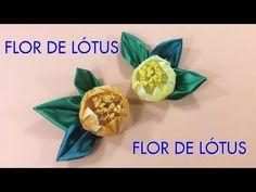 Como Fazer Flores de Tecido - How to Fabric Flowers - E4 - YouTube