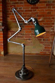 Mek-Elek Industrial Machinist Lamp  by Artifact Lighting