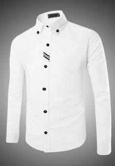 Elegant Long Sleeve Shirt provided by vnHieu- Áo Sơ Mi Nam Tay Dài Thanh Lịch cung cấp bởi vnHieu Elegant Long Sleeve Shirt provided by vnHieu - Slim Fit Casual Shirts, Smart Casual Wear, Stylish Shirts, African Wear Styles For Men, African Men Fashion, Formal Dresses For Men, Formal Shirts For Men, Man Dress Design, Mode Costume