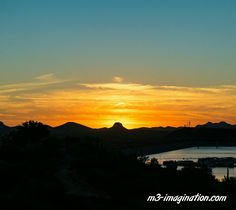 Another image of the #sunset my girlfriend and I captured on my last visit to #Arizona - Another image that would make a great framed picture.  #landscape #desert #photography #lakepleasant #harbor #sunset #scenic #nature #art #microstock