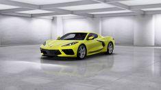 Corvette Stingray 2020 Accelerate Yellow Chevrolet Blazer, Chevy, Classic Corvette, Corvette Grand Sport, Chevrolet Corvette Stingray, New Sports Cars, Corvette Convertible, Car Painting, Ford Gt