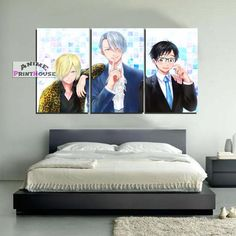 Yuri on Ice Canvas Painting Wall Decor   Yuri Victor Yurio    #yuri #on #ice #canvas #print #painting #home #decor #yurio #yuri #victor #merchandise    https://www.animeprinthouse.com/collections/all/products/yuri-on-ice-canvas-painting-wall-decor-yuri-victor-yurio