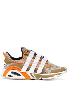 Adidas By White Mountaineering LXCON low-top Sneakers - Farfetch Adidas Tubular Nova, Ethical Brands, Mountaineering, Threading, Scores, Singing, Adidas Sneakers, Women Wear, Metallic