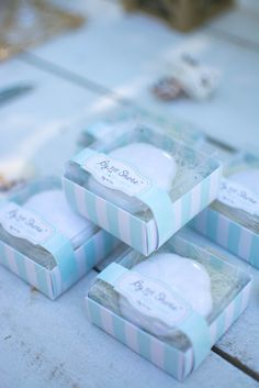 "Whether you're getting married by the shore or by the bay, ""By the Shore"" Sand Dollar Soap is definitely a guest favor that will make waves. Beach Party Favors, Nautical Wedding Favors, Candy Wedding Favors, Unique Wedding Favors, Wedding Ideas, Mason Jar Candy, Succulent Wedding Favors, Cheap Favors, Beach Wedding Inspiration"