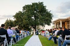 Beautiful wedding at Winfrey Point on White Rock Lake in Dallas
