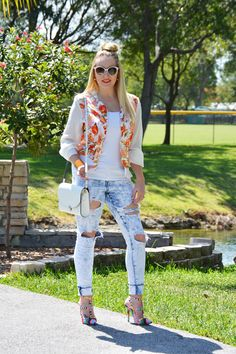 Fashion | Bright Summer Orange | The MIAMI Rose #OOTD
