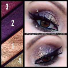 """Get ready to sparkle! Mary Kay NEW Winter collection will launch on Nov 15! New Mineral Eye Color Quad in """"Autumn Leaves"""" shown. Shop: www.marykay.com/kaylapratt88"""