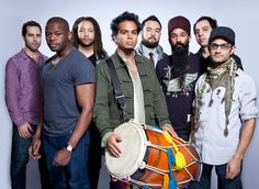 Red Baraat: Monday, March 23, at Mississippi Studios It's a party in the U.S.A.—and Northern India. Sunny Jain (center) and Red Baraat. - IMAGE: Erin Patrice O'Brien