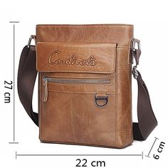 Aliexpress.com : Buy CONTACT'S New Arrival Famous Brands Genuine Leather Messenger Bags Crossbody Bag Briefcase Designer High Quality Shoulder Bag from Reliable branded ladies bags suppliers on Contact'S Flagship Store