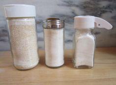 Making garlic powder--to maintain flavor and healing powers.