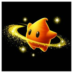 View an image titled 'Star Art' in our Super Mario Galaxy 2 art gallery featuring official character designs, concept art, and promo pictures. Luma Mario, Mario Bros., Super Mario Kunst, Super Mario Art, Mario Kart, Metroid, Star Character, Character Design, Harmonie Mario