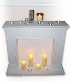 Portal kominkowy dekoracje Home Inspiration - zdjęcie w galerii pomysłów Styl