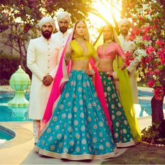 Destination weddings are quite shaping the future of bridal wear. Taking cues from our heritage, and marrying them to contemporary needs, we at Sabyasachi are constantly redefining Indian bridal wear. 'An Endless Summer' is almost a ready-to-wear take on Indian Bridal Fashion, Indian Bridal Wear, Indian Wedding Outfits, Indian Wear, Indian Outfits, Indian Clothes, Indian Weddings, Outfits Teenager Mädchen, Teenage Girl Outfits