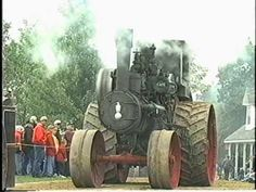Case Antique Steam Tractors at Rollag Minnesota Threshing Show ...