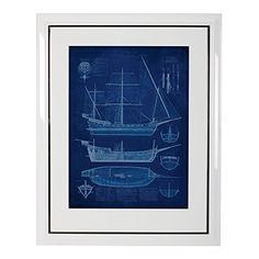 Ethan Allen Ship Blueprint II Ethan Allen