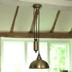 Our Butler rise and fall #pendant is perfect for achieving the #traditional look.