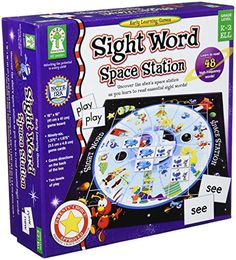 Take a look at this Carson-Dellosa Sight Word Space Station Board Game by Best of the Best: Educational Toys on today! Gaming Station, Space Station, Sight Word Games, Sight Words, Parent Teacher Store, Educational Board Games, Educational Toys, Pirate Activities, Space Words