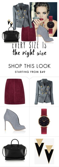 """""""Untitled #89"""" by gygy-110398 on Polyvore featuring River Island, Balmain, Gianvito Rossi, Abbott Lyon, Givenchy and Yves Saint Laurent"""