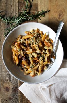 Oxtail Ragù with Garganelli and Horseradish Breadcrumbs