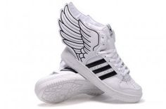Originals Adidas Jeremy Scott Wings 2.0 White Black Shoes