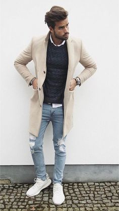 20 outfits you should copy from this influencer!Club 20 outfits you should copy from this influencer! Fashion Mode, Mens Fashion, Fashion Trends, Fashion Suits, Fashion Clothes, Fashion Inspiration, Mode Outfits, Casual Outfits, Casual Shoes