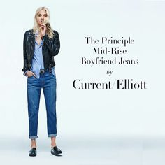 These @currentelliott Boyfriend #jeans Are Perfect For A Relaxed Fall Look And Are Available Exclusively As Part Of Our #principlecollection! Tap The Link In Our Bio To Find Your Perfect Pair By Shopbop