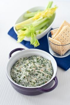 Epicure's Hot Spinach Dip www. Epicure Recipes, Healthy Vegetable Recipes, Healthy Cooking, Healthy Dinner Recipes, Appetizer Recipes, Vegetarian Recipes, Cooking Recipes, Appetizers, Keto Recipes