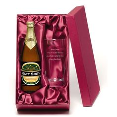 """Personalised Magners Cider with Engraved Glass  This lovely bottle of personalised """"Magners"""" Cider, comes with a lovely personalised engraved gla.."""