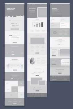 landing page wireframe - Google Search