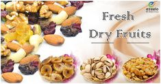 """Eat Dry Fruits """"For a Healthy Lifestyle"""" The Biggest Variety Of Dried Fruit are Available in Kanpur Visit on Ezeelo.com   #dryfruits #fruits #kanpur #ezeelo"""