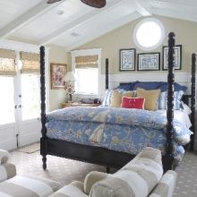 Cool ceiling planks and beams -- all white