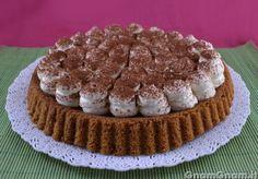 • Crostata con base morbida al tiramisù - Ricetta Crostata con base morbida al tiramisù di GnamGnam