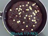 Brownie à la poêle