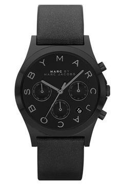 black marc jacobs watch, hot!