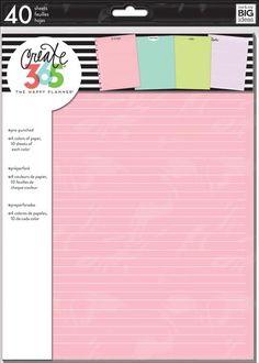 Colored Fill Paper - BIG – me & my BIG ideas