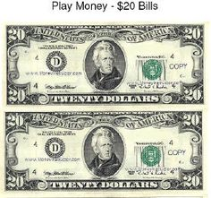 Play money template play money templates free for Custom fake money template