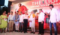Shri Narendra Modi attends special screening on the film 'The Light- Swami Vivekananda' « Home   www.narendramodi.in