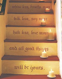 Love this for the wooden basement stairs