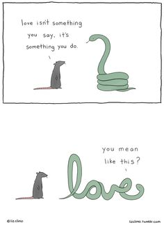 20 Adorably Funny Animal Comics by Liz Climo 20 Liebenswert lustige Tiercomics von Liz Climo Funny Animal Comics, Funny Animal Memes, Funny Comics, Funny Animals, Cute Animals, Happy Comics, Animal Humor, Animal Quotes, 9gag Funny