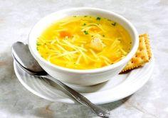 Supă de cocoș cu tăitei,o supă aurie, gustoasă, sănătoasă