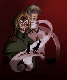 Katyn by Chater on DeviantArt North Europe, Central Europe, Poland Hetalia, Hetalia Fanart, Happy Independence Day, Axis Powers, Me Me Me Anime, Manga Anime, Cool Art