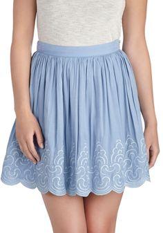 ModCloth | Wisp Come True Skirt - sizes XL to 4X (true to size)