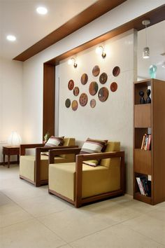 Wood Partition, Living Room Partition Design, Room Partition Designs, Living Room Sofa Design, Living Room Designs, Indian Home Interior, Flat Interior, Apartment Interior, Home Interior Design