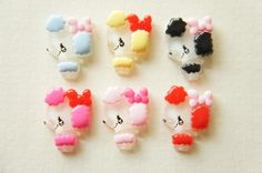 6 pcs Retro Poodle Face Cabochon (16mm23mm) DR033 on Etsy, £2.43