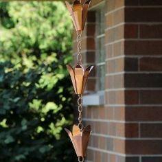 Flower Cup Rain Chain