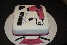 Ooh La La Cakes                                                                by Melissa: Hair Dresser Cake