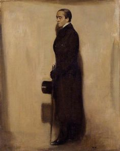 """Portrait of Sir Max Beerbohm by Sir William Nicholson (English 1872 – Henry Maximilian """"Max"""" Beerbohm was an English essayist, parodist, and caricaturist best known today for his 1911 novel 'Zuleika Dobson'. Leeds Art Gallery, William Nicholson, Glasgow Museum, Academic Art, Galleries In London, National Portrait Gallery, Art Uk, Sculpture, Wood Engraving"""