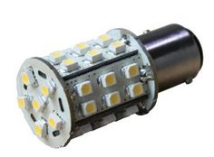 Brightech LED BA15s - Warm White Color- Bayonet Base 36LEDs SMD Bulb - 2nd Generation with 36 LEDs - Replacement for #1156 1141 1073 1093 1129 93 -